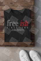 Freeish Juneteenth Rhinestone Shirt