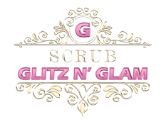 Scrub Glitz and Glam