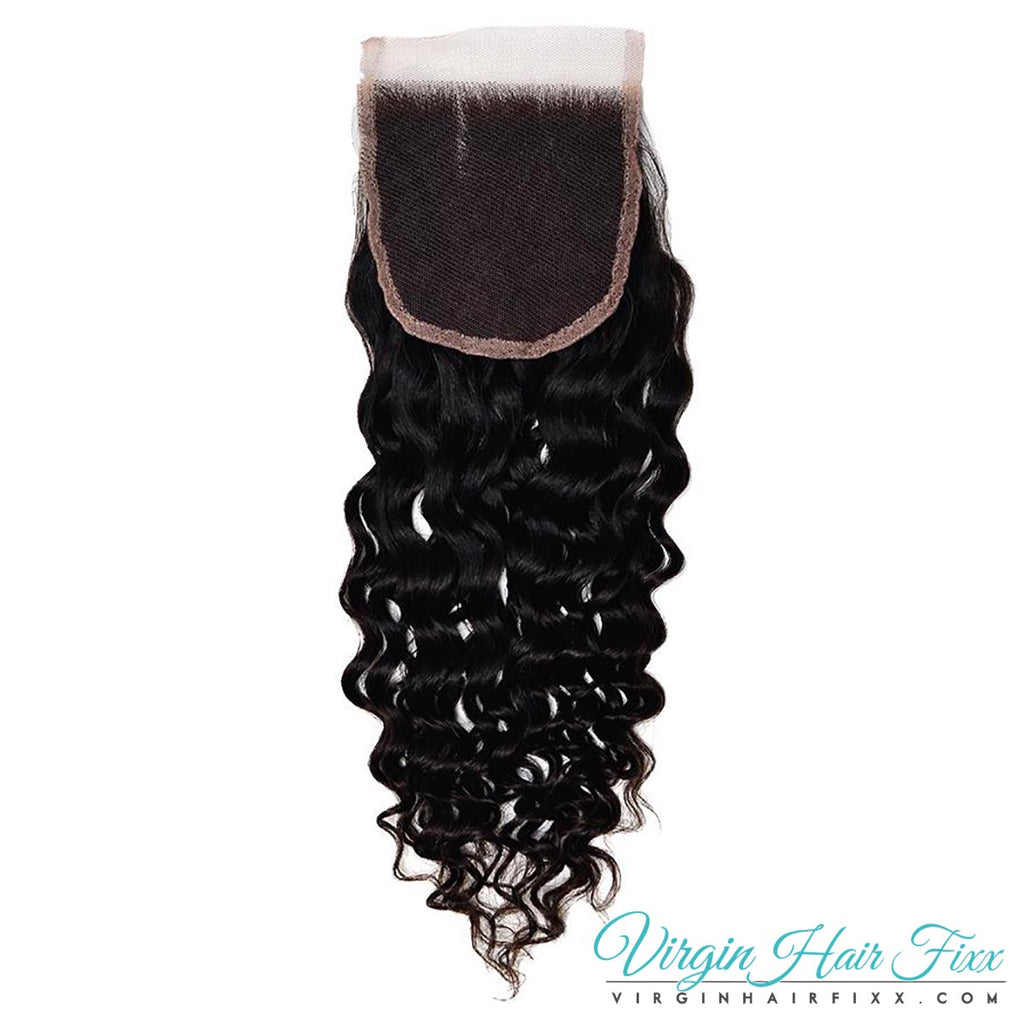 Malaysian Curly Lace Closure 14