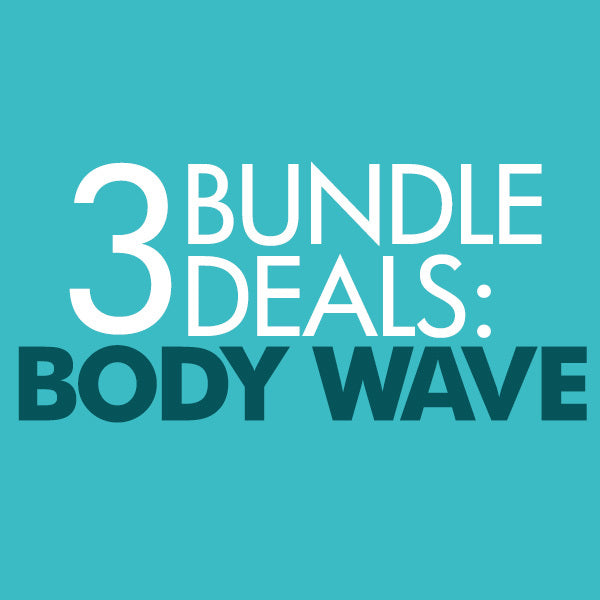 Malaysian Body Wave 3 Bundle Deal