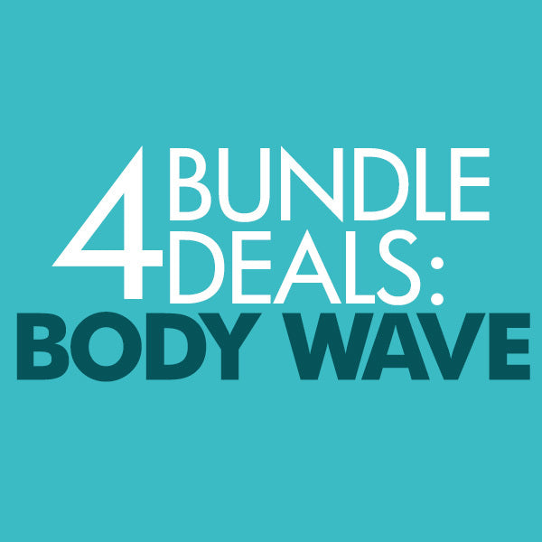 Malaysian Body Wave 4 Bundle Deal