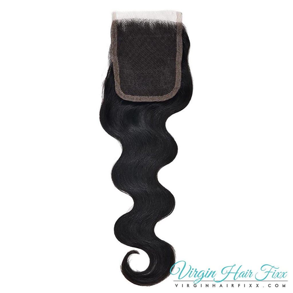 Malaysian Body Wave Lace Closure 14