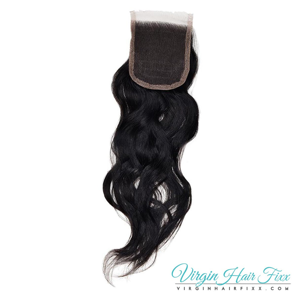Malaysian Wavy Lace Closure 14