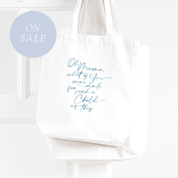 For Such a Child as This - Tote Bag