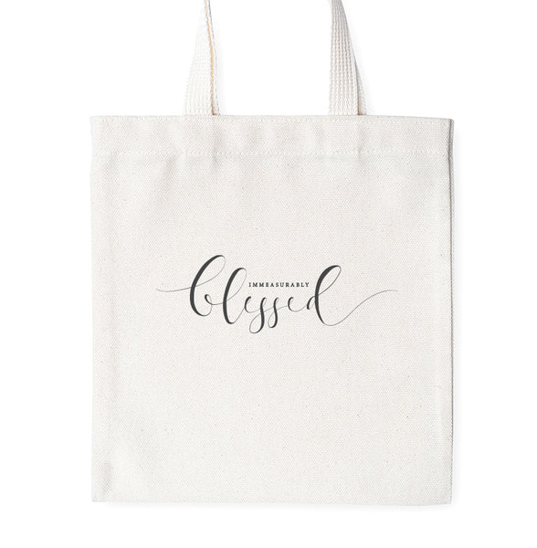 Immeasurably Blessed - Tote Bag
