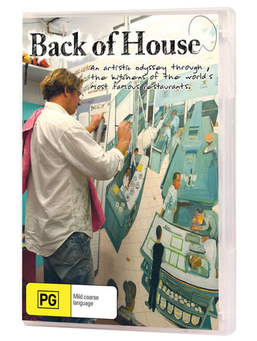 Back of House DVD