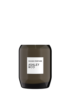 Waxed Perfume Candle - Bubbles & Polkadot