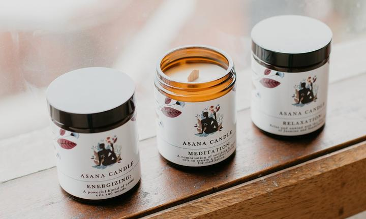 Asana Candle - Relaxation