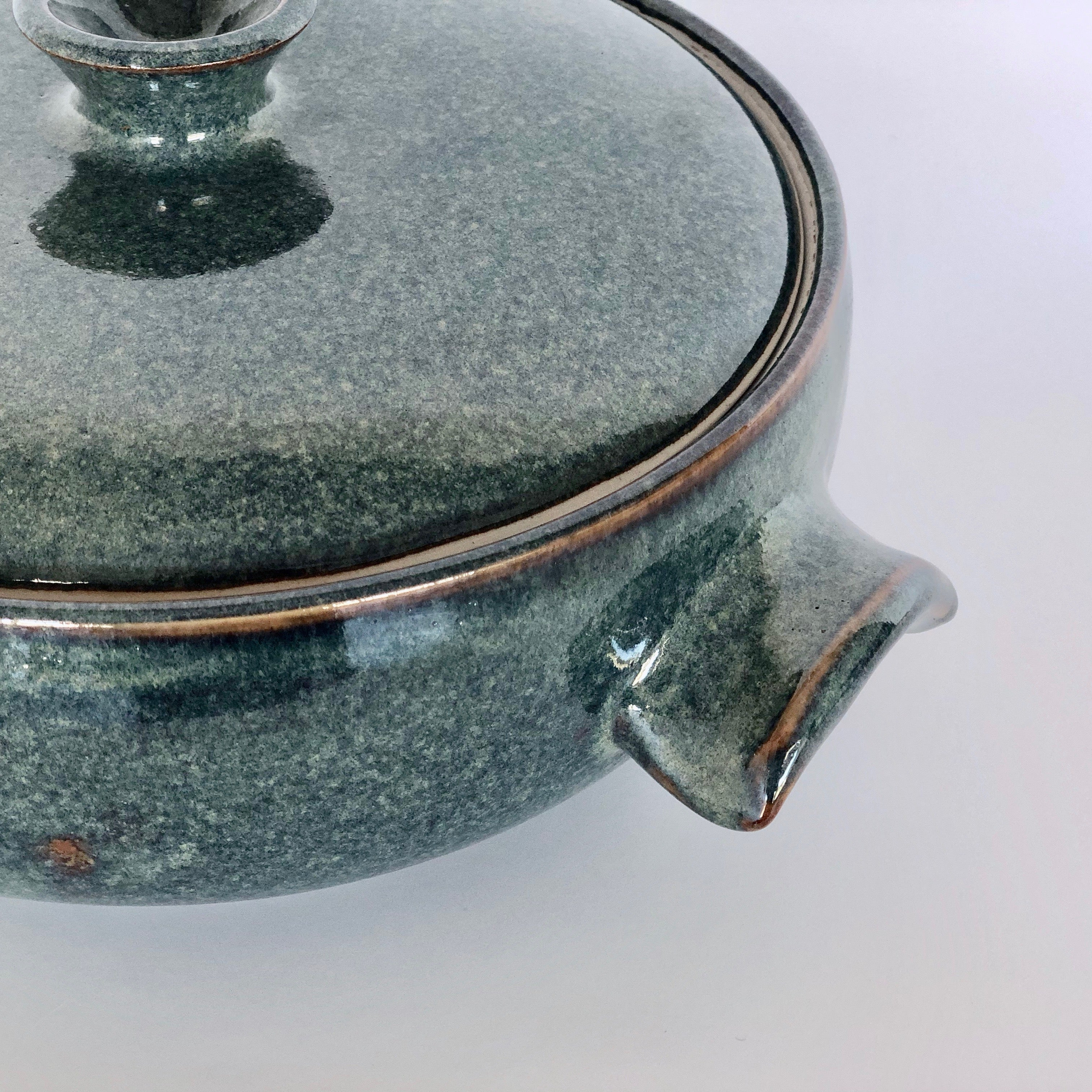 Stoneware Casserole Dish with Lid - Made in Melbourne