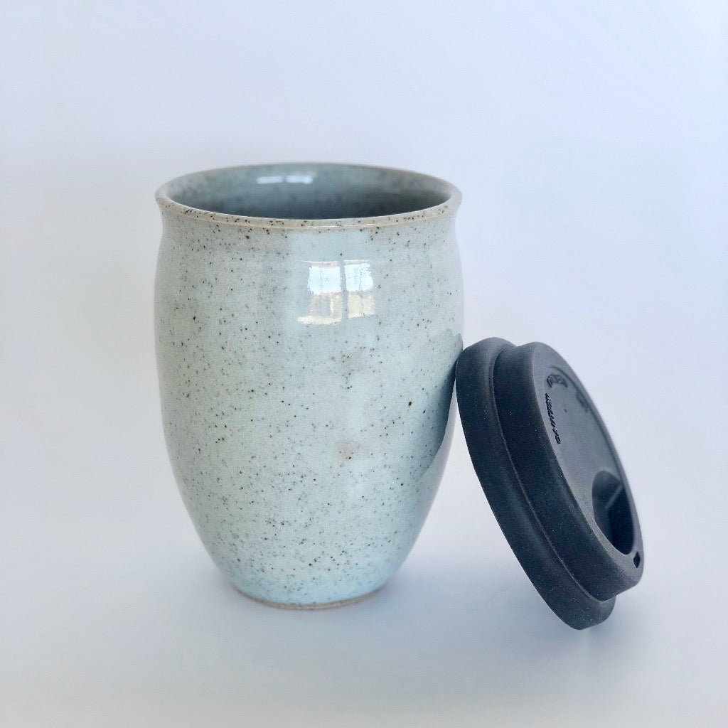Light Ceramic Reusable Cup Large - Made in Melbourne
