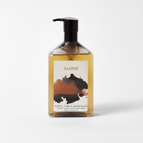 Liquid Olive Oil Body Wash in Kaffir Lime & Sandalwood