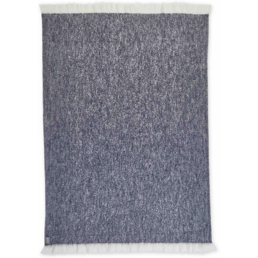 Pure St Albans Mohair in a classic blue marle colourway featuring contrasting navy with neutral undertones.
