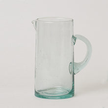 Load image into Gallery viewer, Moroccan Glass Carafe with Handle and
