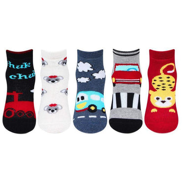 Baby multi-color Printed Ankle Socks