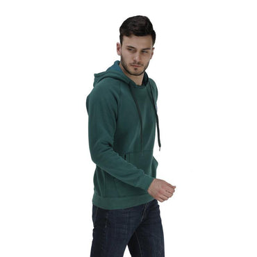 Men's Hooded Solid Sweatshirt