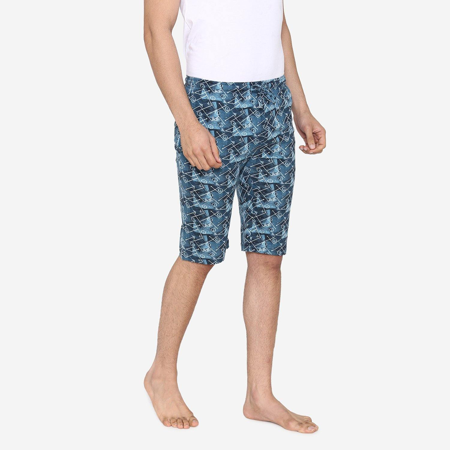 Men's Abstract Pattern Prints Comfy Shorts For Summer