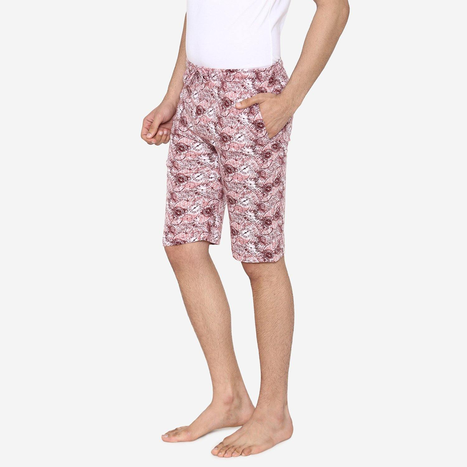 Men's Printed Comfy Shorts For Summer