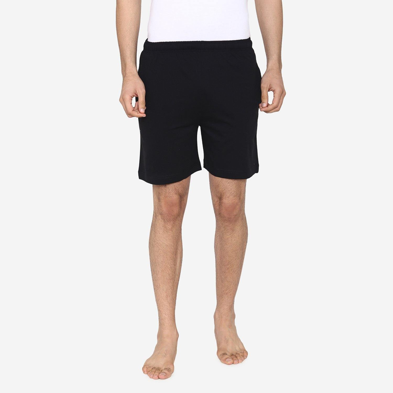 Men's Plain Comfy & Casual Shorts For Summer