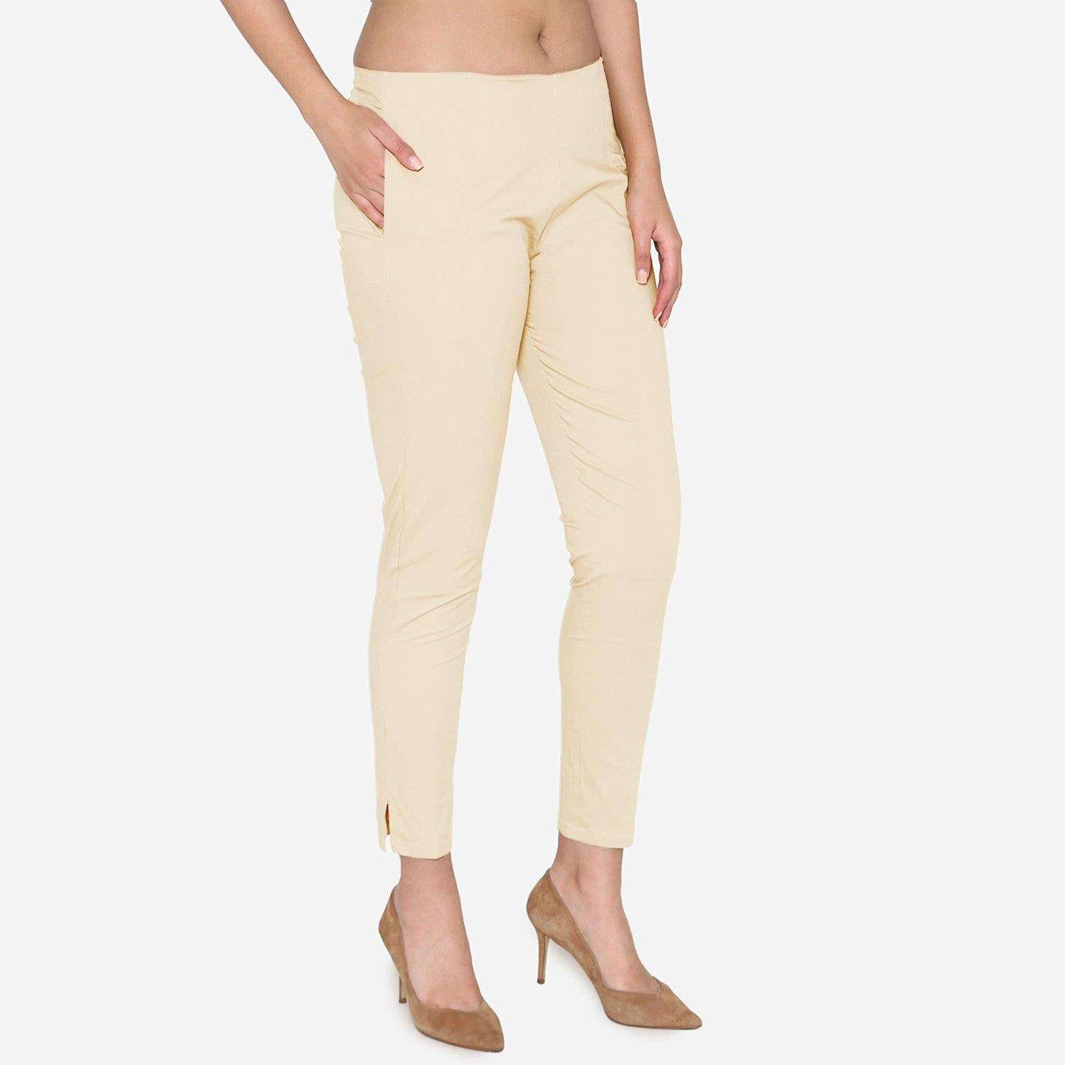 Women's Cotton Formal Trousers