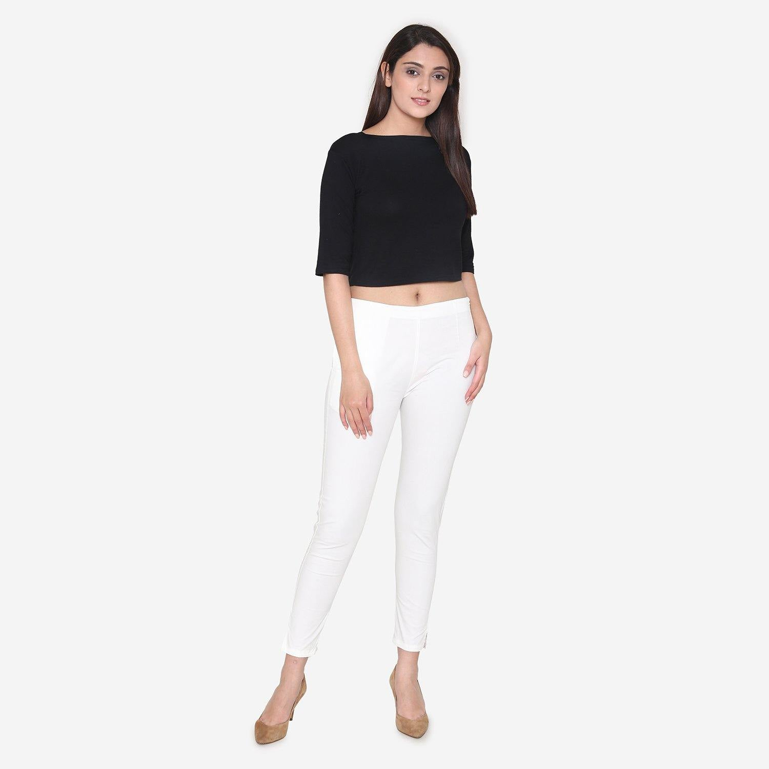 Vami Women's Cotton Formal Trousers - RFD