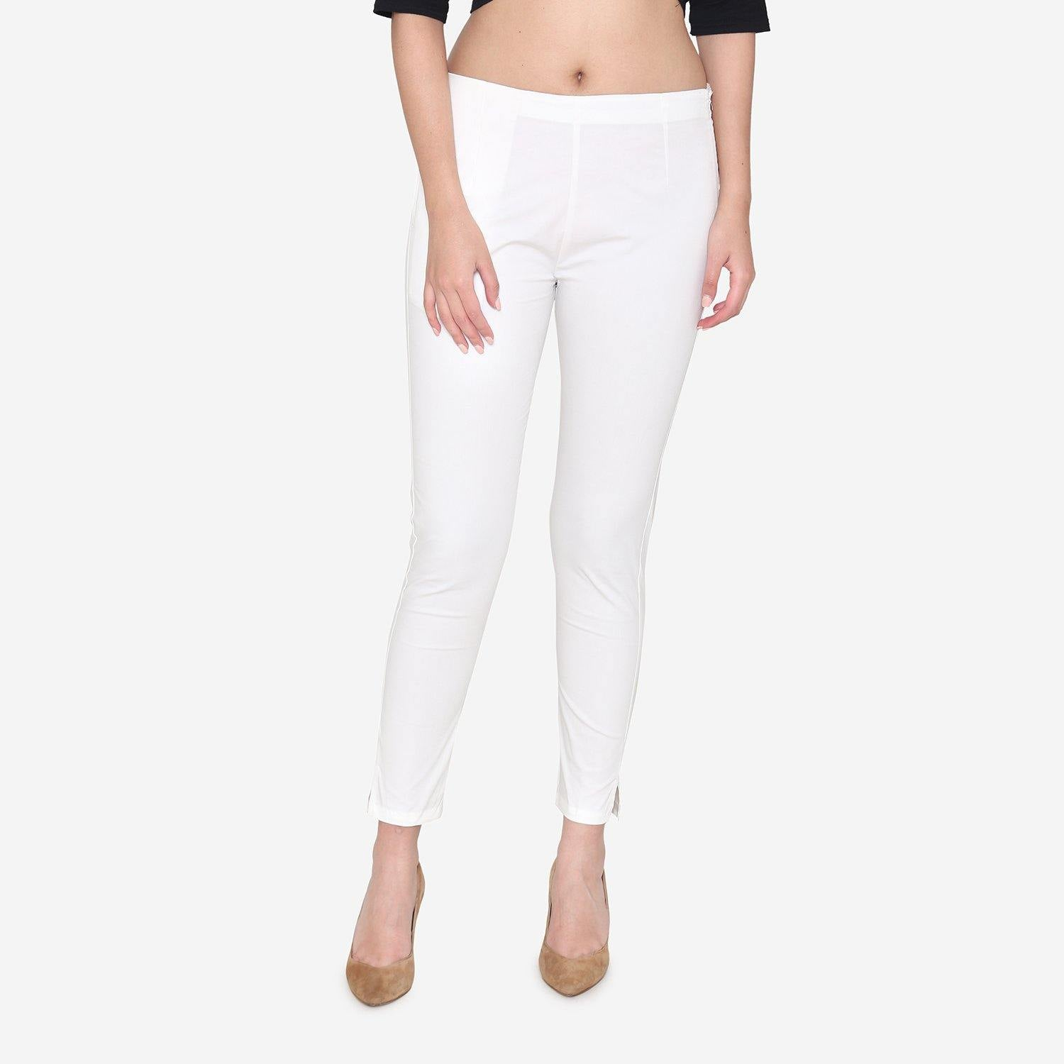 Formal Trousers - White