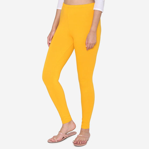 Leggings for Women in Yellow Color