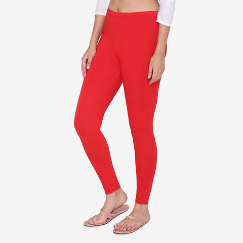 Leggings for Women in Red