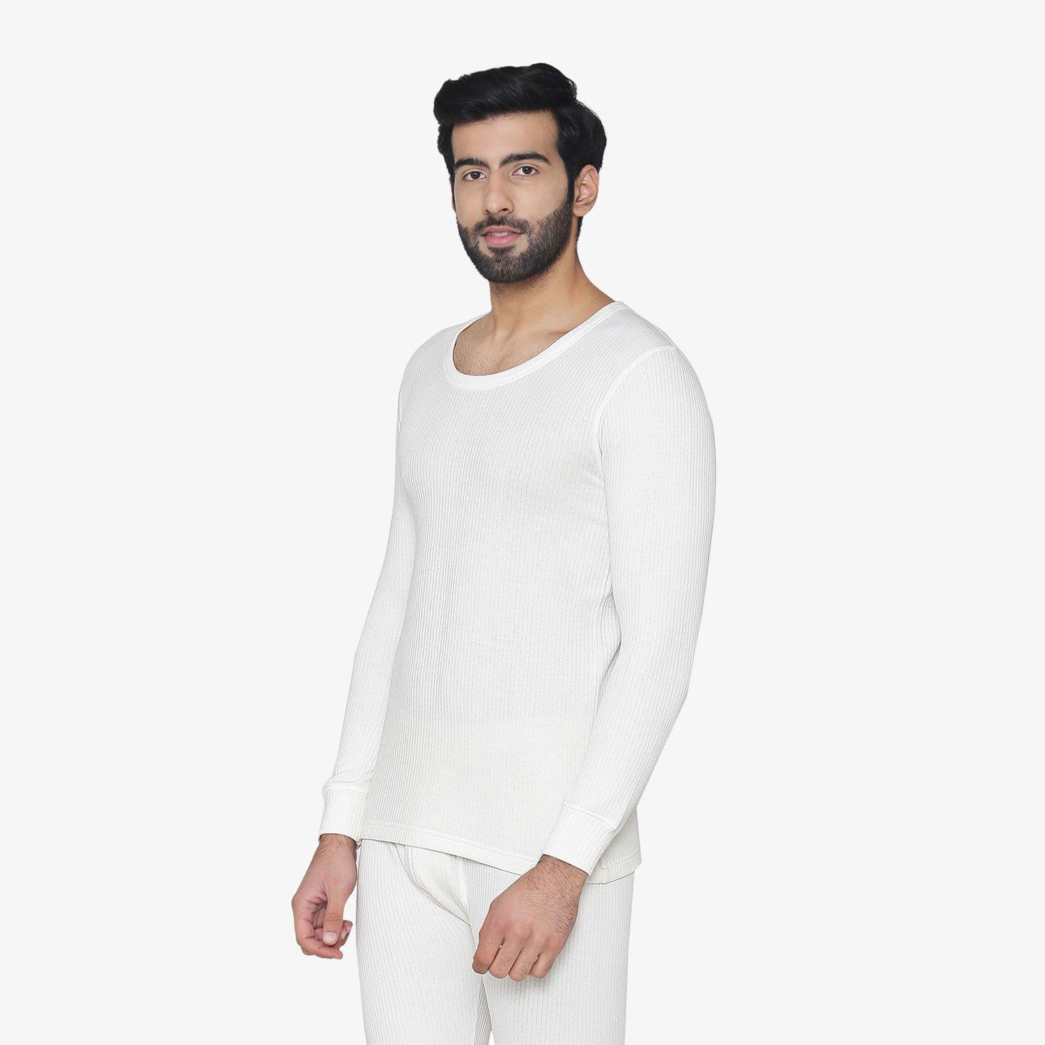 Men's Plain Regular Fit Thermal Vest