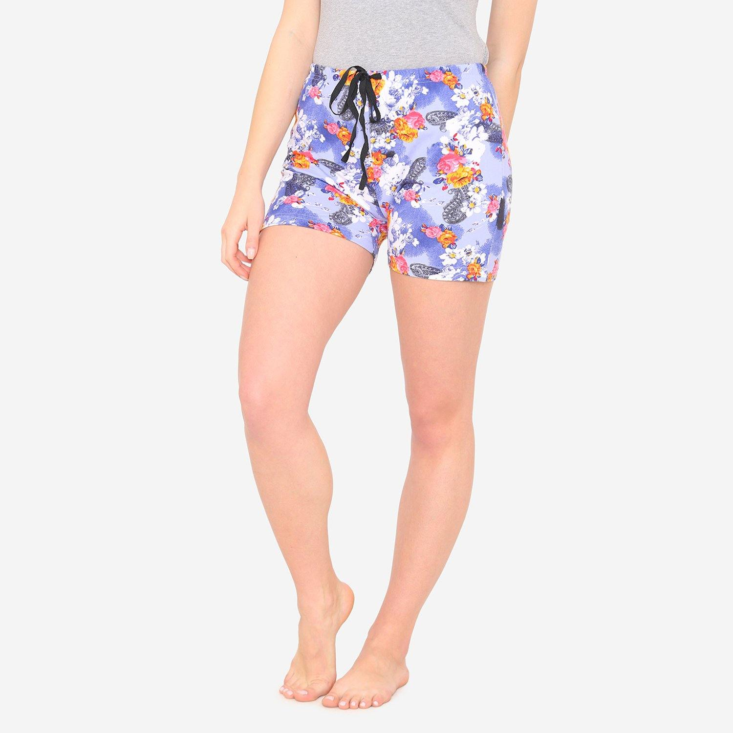 Women's Floral Prints Casual Comfy Summer Short