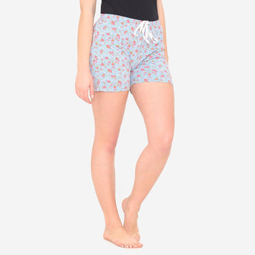 Women's  Casual Comfy Floral Prints Short For  Summer