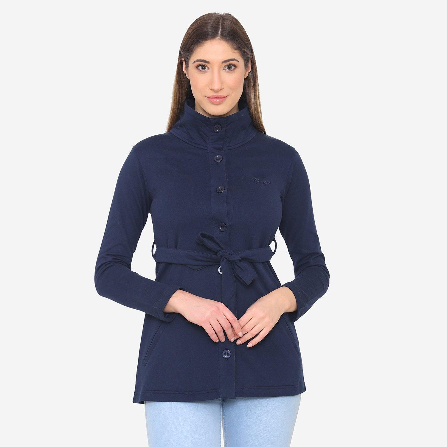 Women's Stylish & Comfy Jacket - Navy