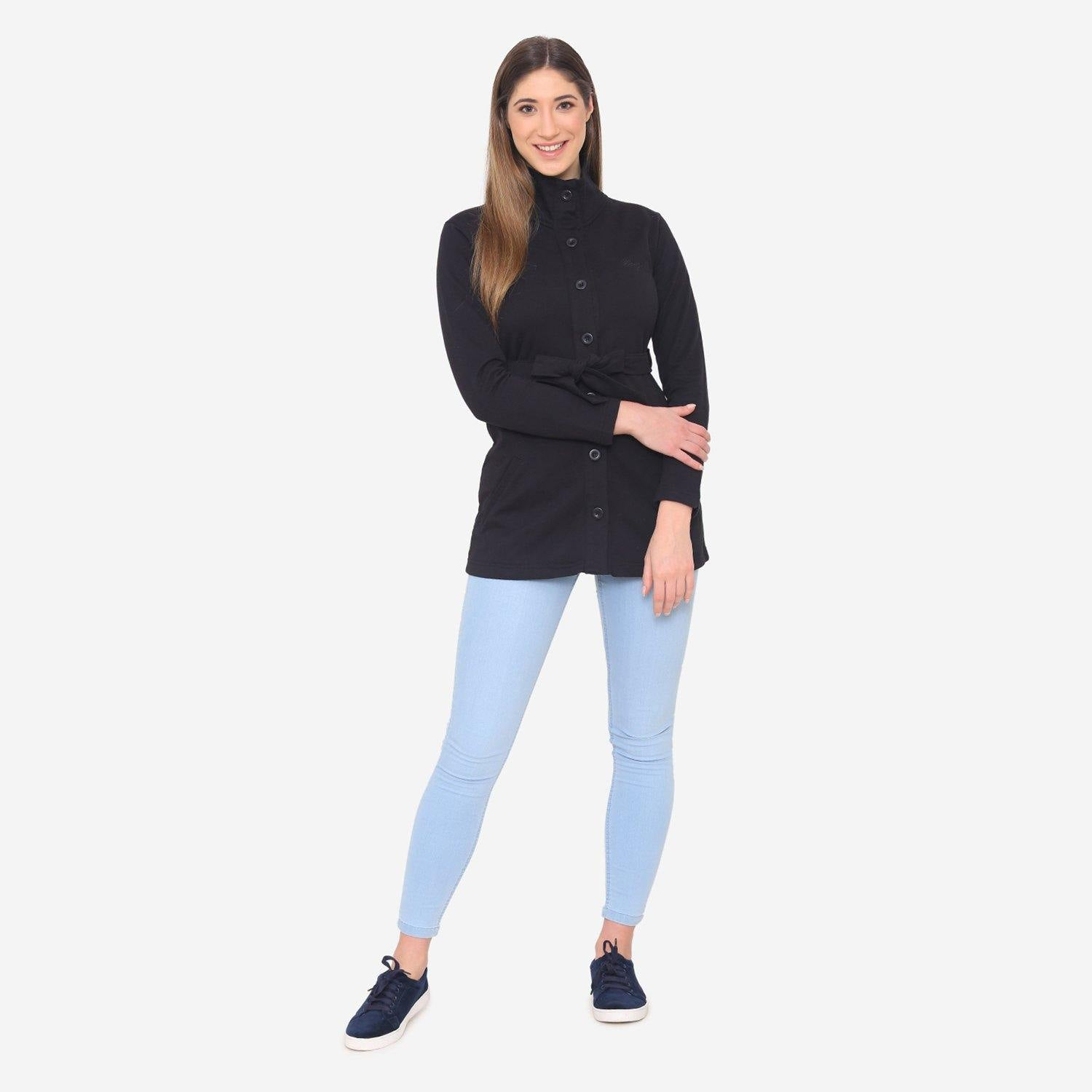 Women's Stylish & Comfy Winter Jacket - Black