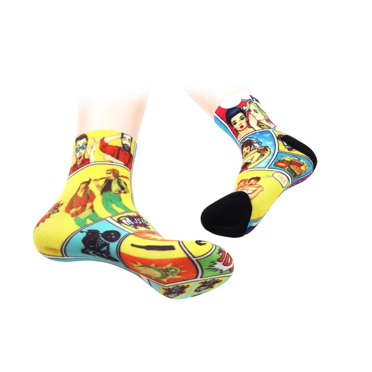 Limited Edition Fashion Socks - Pack Of 2
