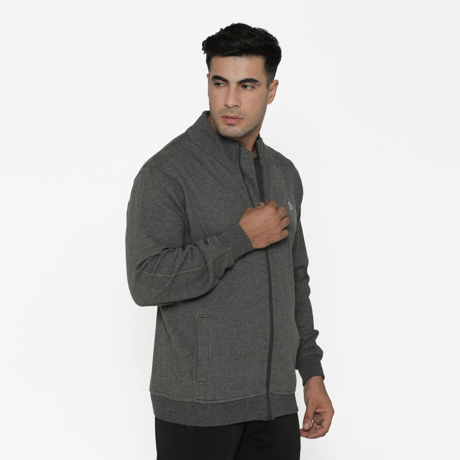 Men's Full Sleeve Plain Jacket