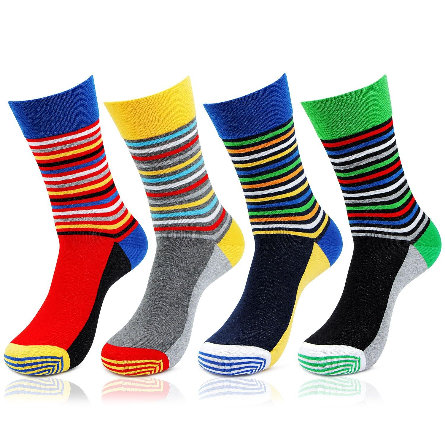 Men's Designer Bold socks - Pack of 4