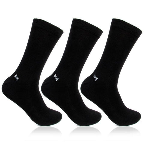 Men's Health Black Socks- Pack of 3