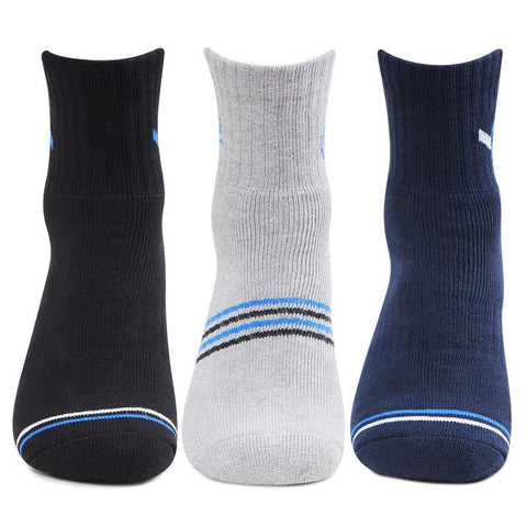 Men's Sports Ankle Socks- Pack of 3