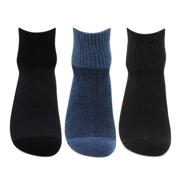 Men's Cushioned  Ankle Sports Socks- Pack Of 3