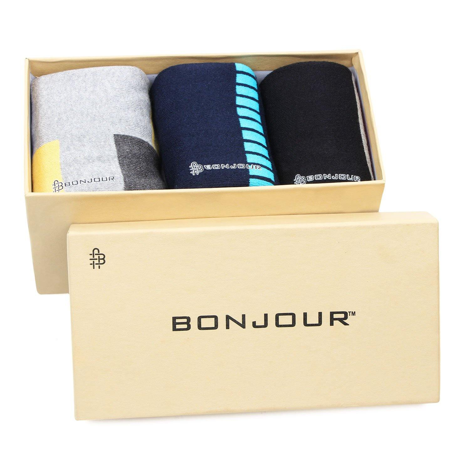 Men's Cushioned Crew  Sports Socks - Pack Of 3