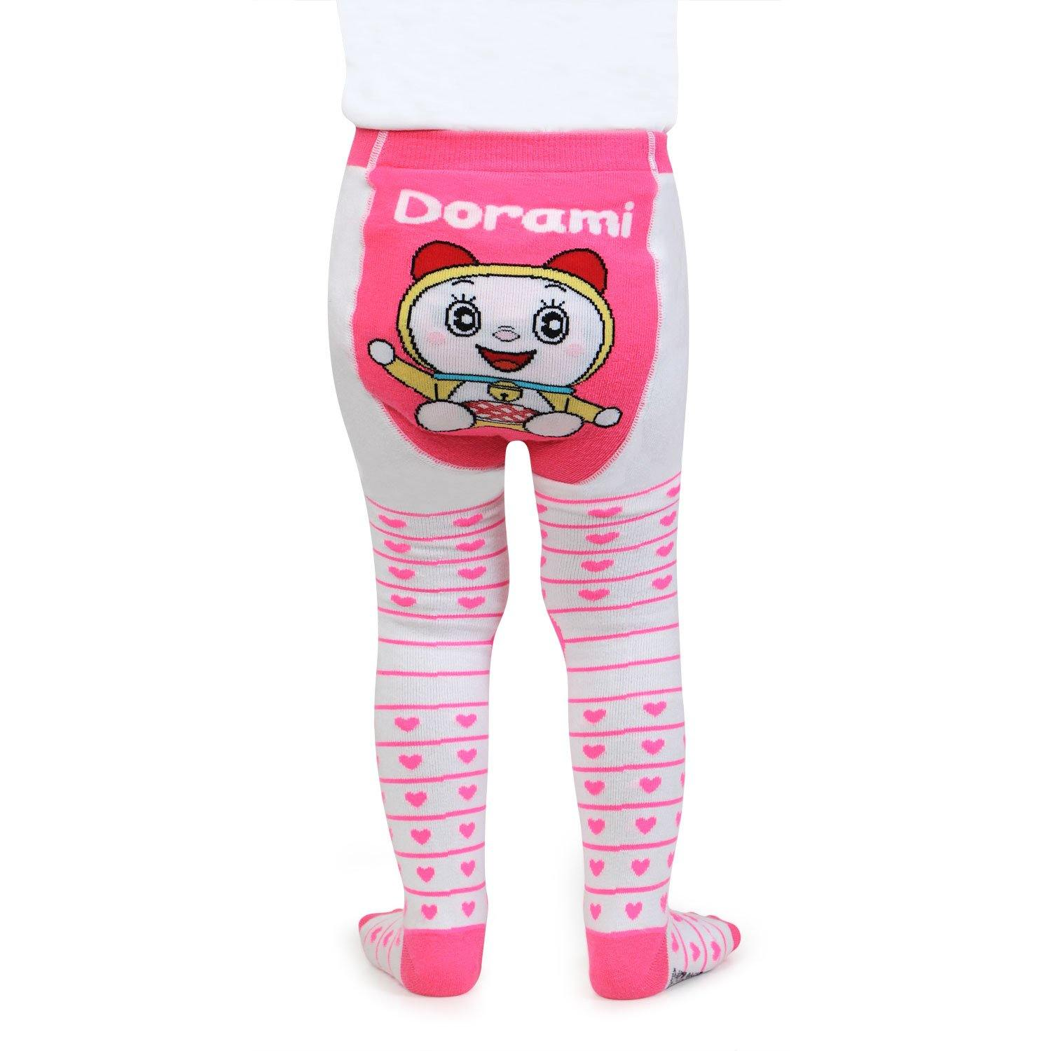 Doraemon Knitted Baby Boy Tight - White - Bonjour Group