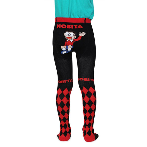Doraemon Knitted Baby Boys Tights