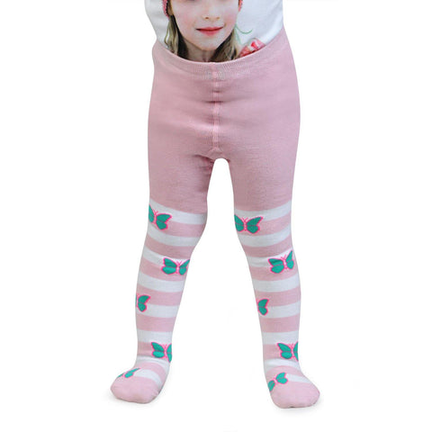 Pink Tights for Baby Girls