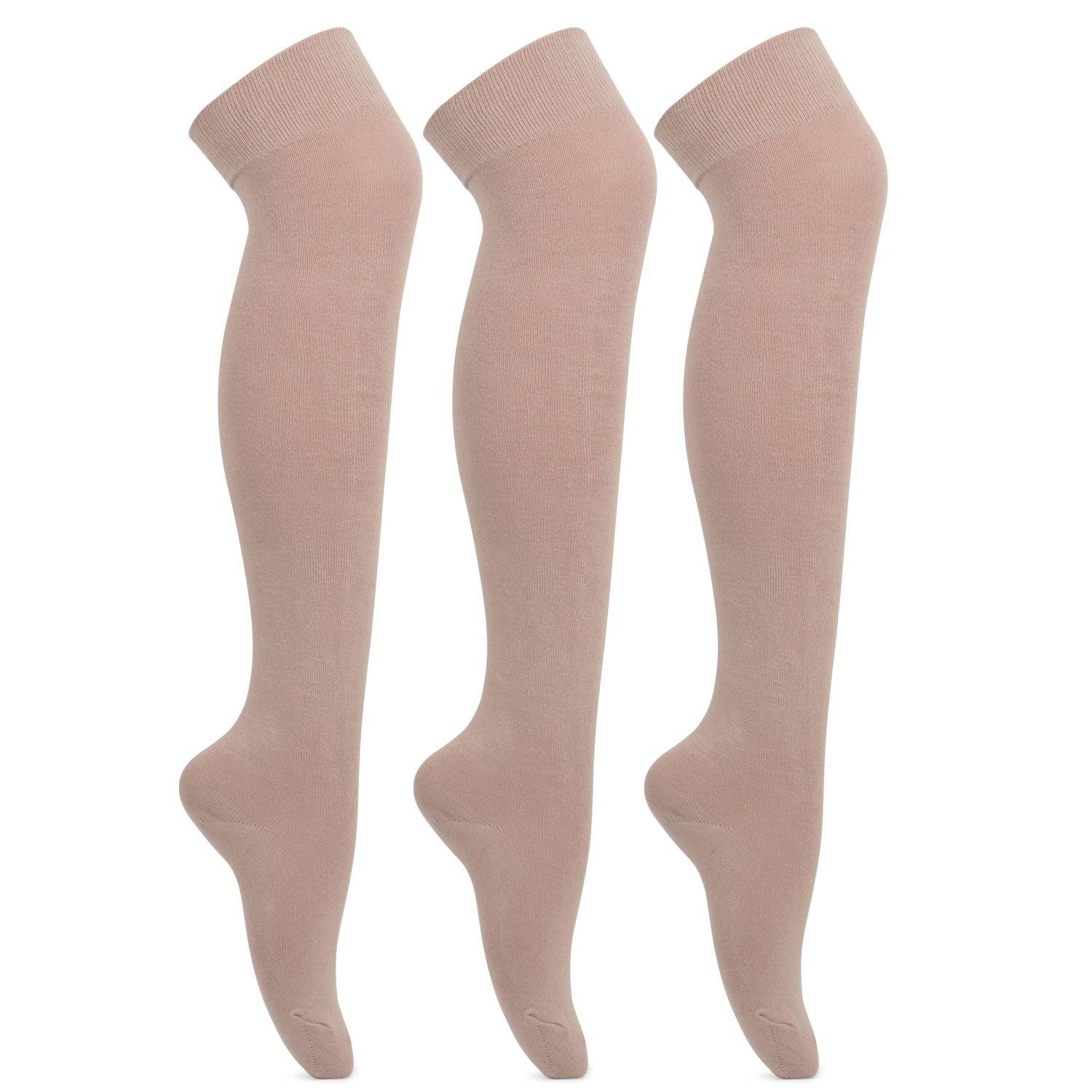Formal Stockings  For School Girls - Pack of 3 - Bonjour Group