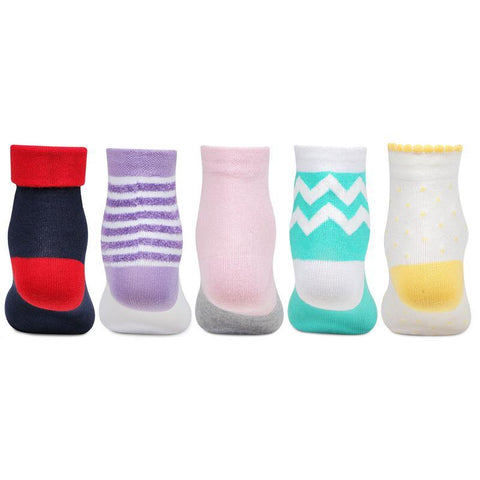 Doraemon Kids Ankle Socks - Pack of 5