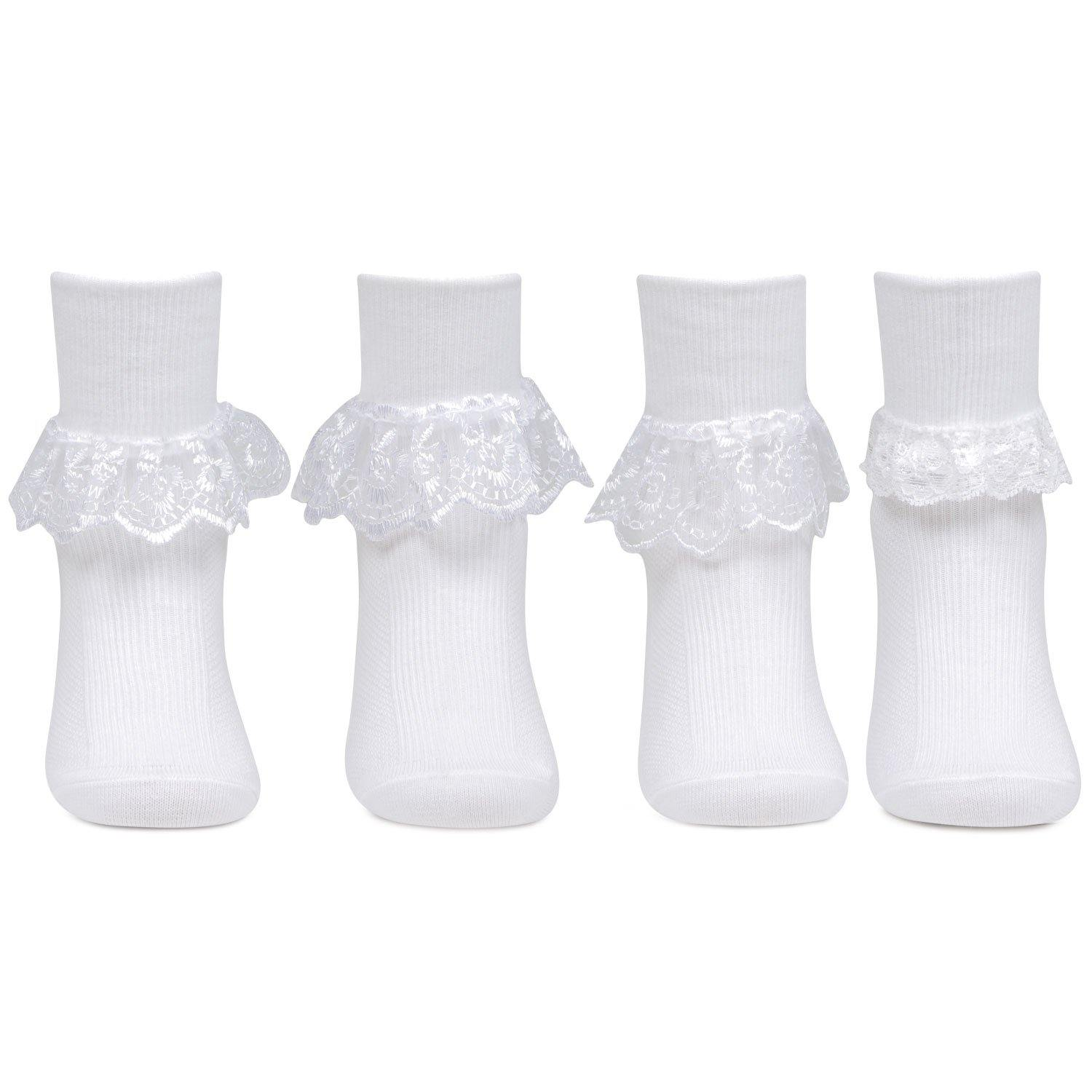 Fashionable Frill Socks