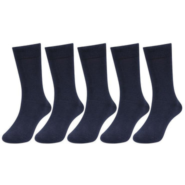 Navy color Cotton School Socks