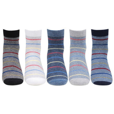 Gen X Ankle Socks for Young Boys - Pack of 5