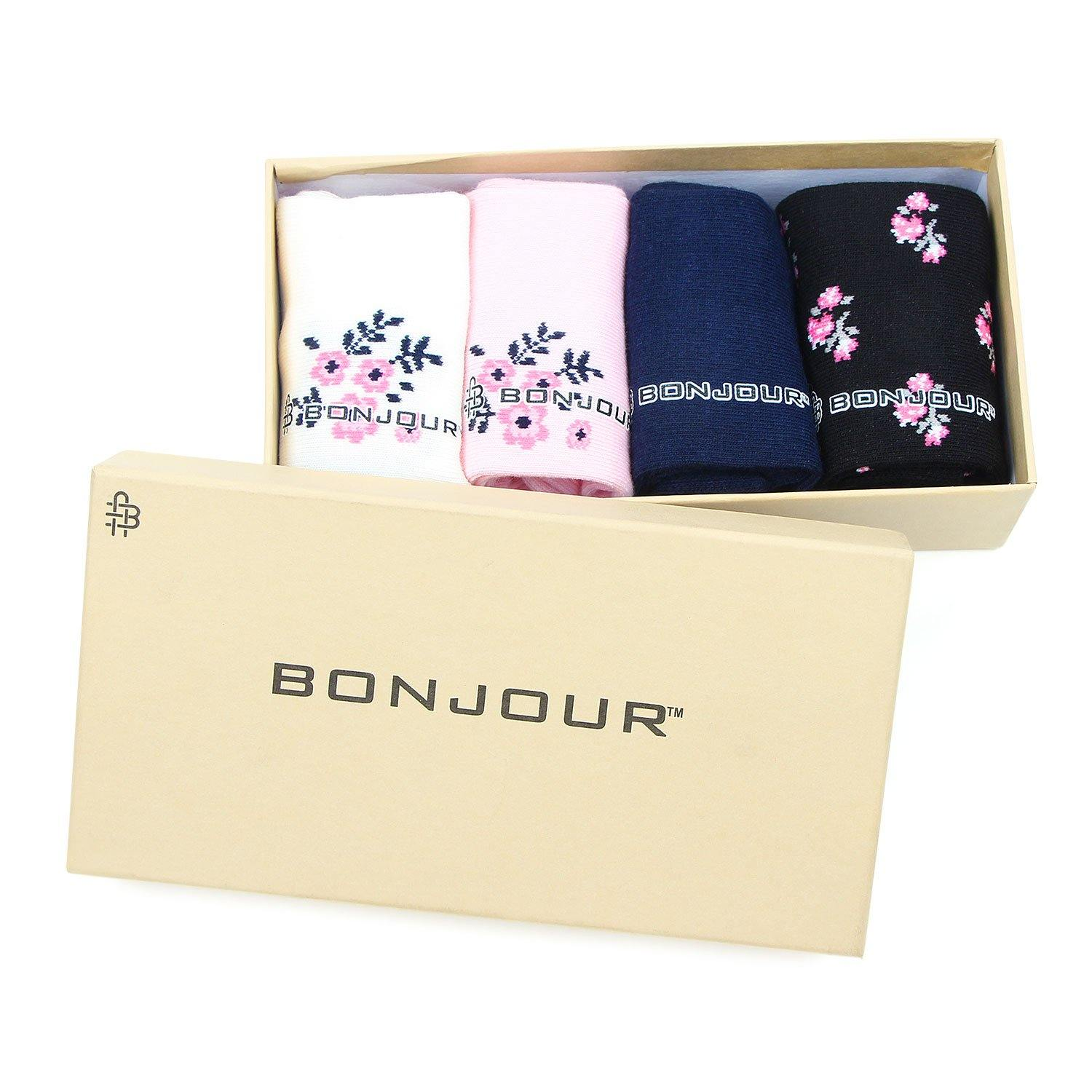 Women's Floral Fancy Socks -Pack Of 4