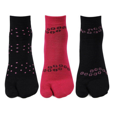 Woolen Ankle thumb Socks for Women - Pack of 3