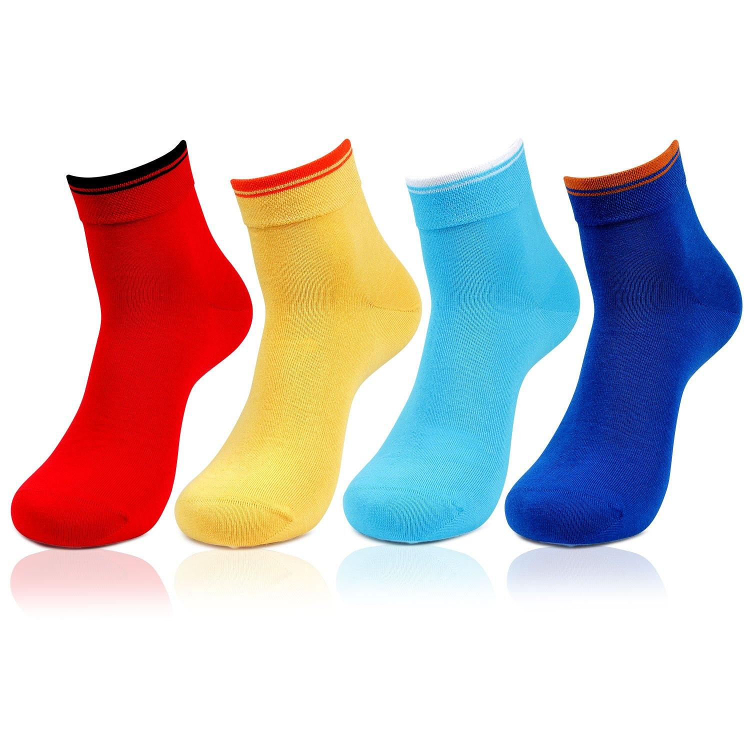 Plain Ankle Bold Socks